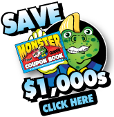 Download the Monster Coupon Book App!