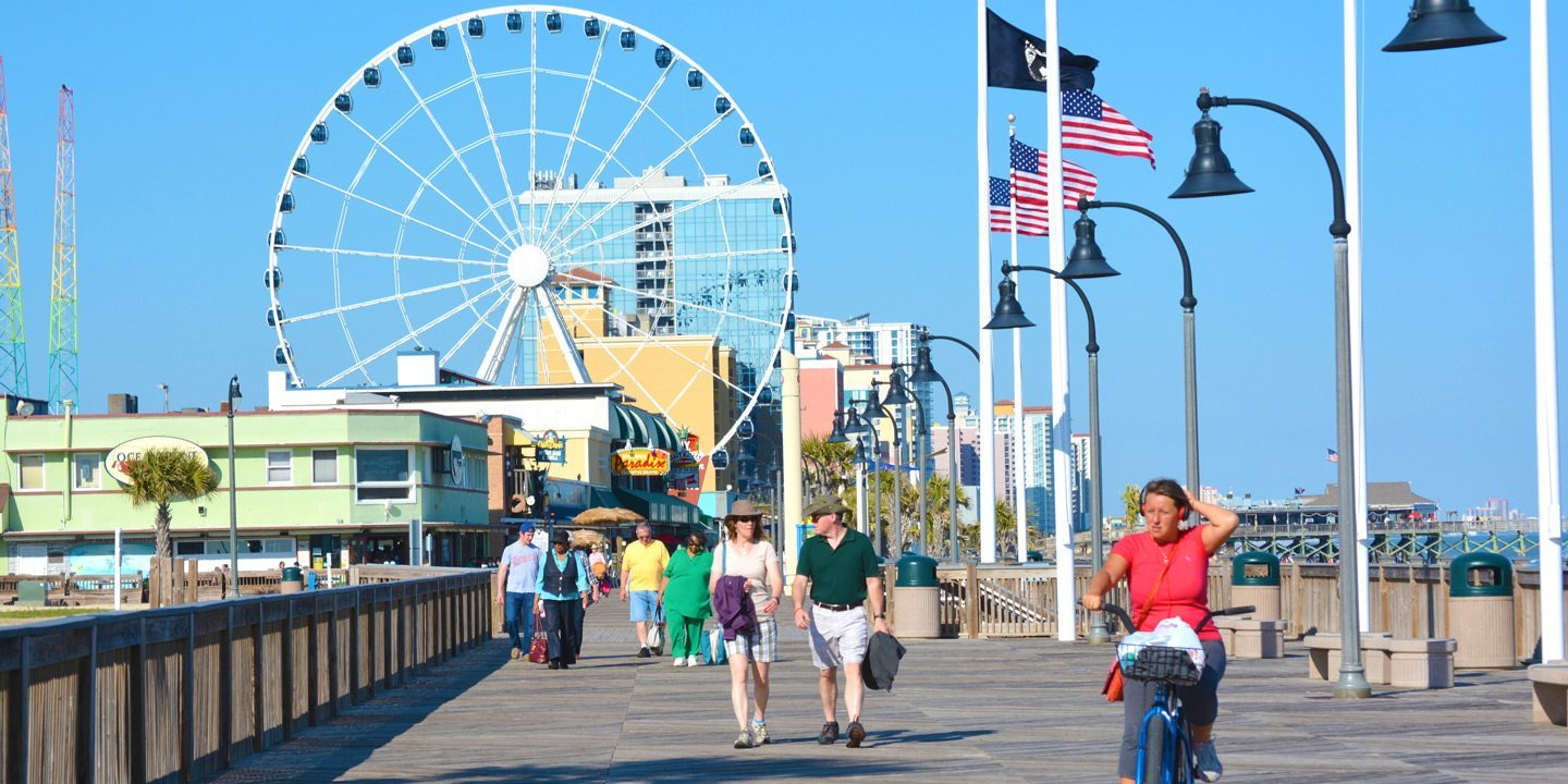 Myrtle Beach Boardwalk Oceanfront